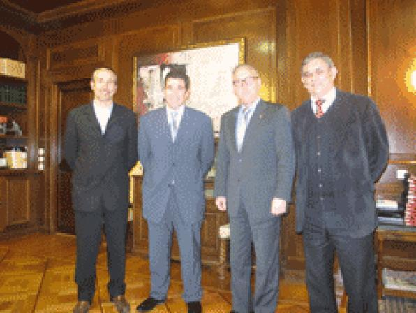 Tarragona receives the confederation of employers and trade services of the counties