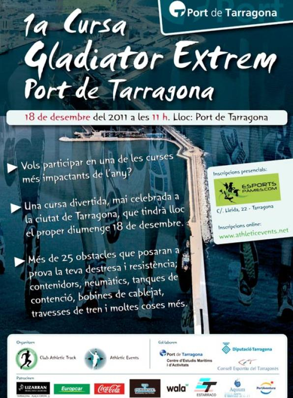 This Sunday comes the 'Gladiator Extrem Pot', the first obstacle race of Tarragona