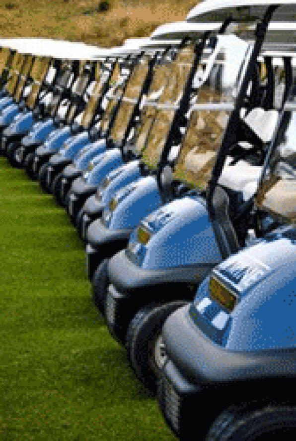 The Golf Lumine renews its fleet of booguies and expands the team of caddy masters