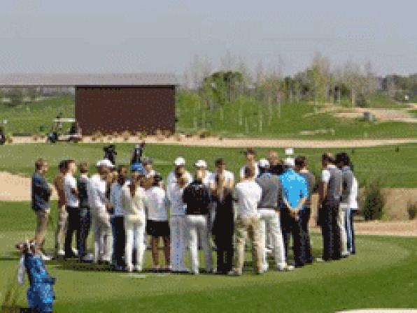 La Costa Dorada acoge el golf europeo