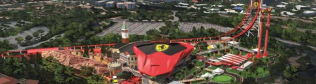 PortAventura Ferrari Land will open the April 7, 2017