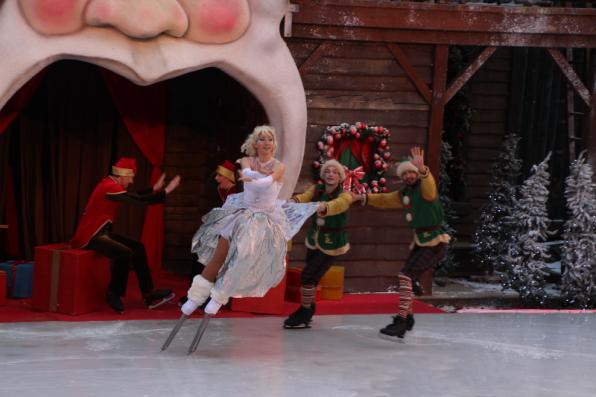 Dreaming on ice in PortAventura for Christmas