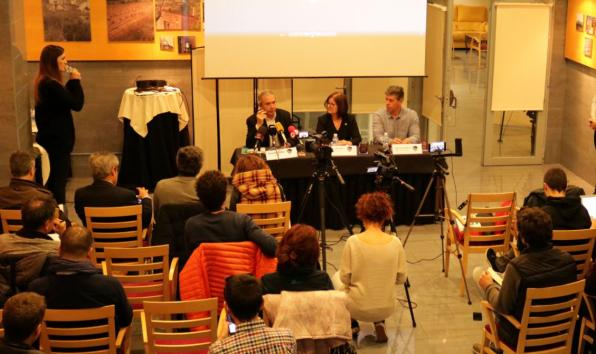 Press conference for presentation of the 44th edition of the festival