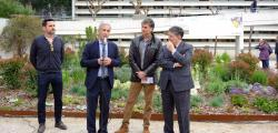 Repsol collaborates in the Garden of the Butterflies of the URV