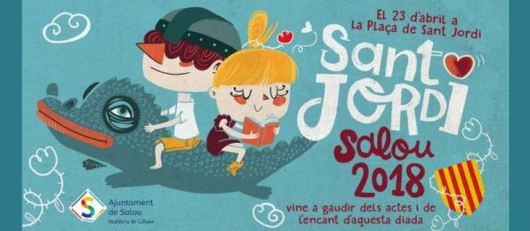 Sant Jordi event program for 2018