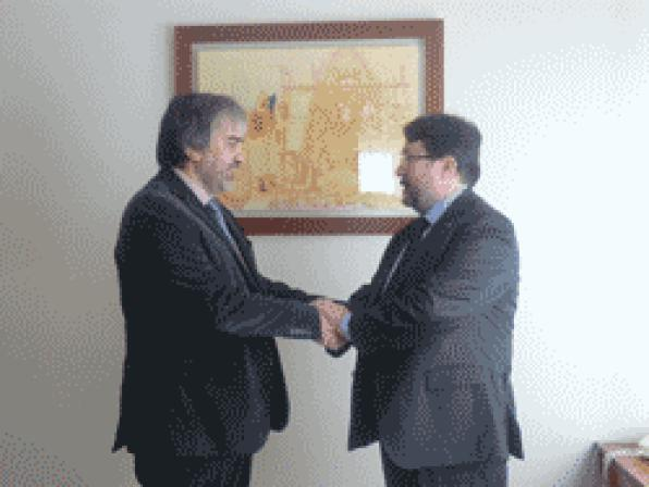 The Government representative in Tarragona meets new president from PIMEC