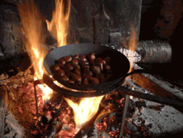 Friday 28 October began selling chestnuts for All Saints