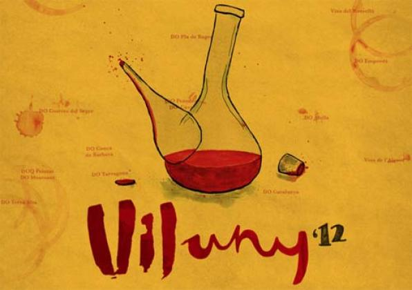 Vijuny, wine present in the fair 'Reus Viu el Vi 2012'