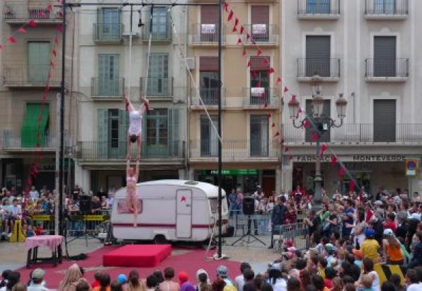Fair Circus 'Trapezi' in Reus from 12 to 16 May