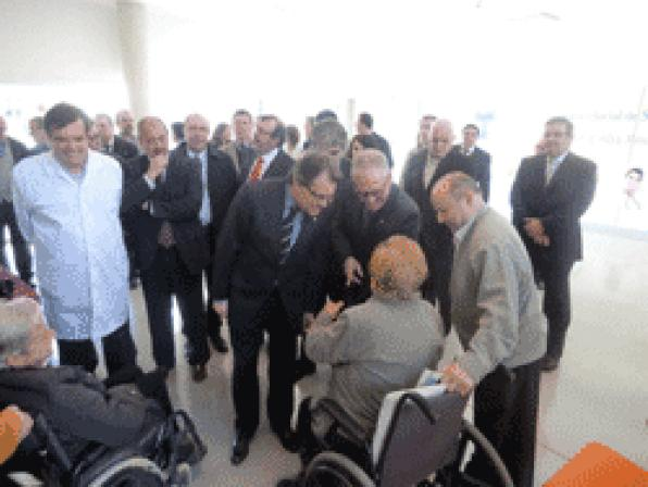 President Mas inaugurates a Health Center for High Resolution in Vilaseca