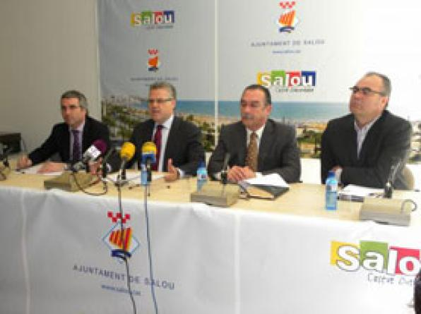 Salou'll open the Camí de Ronda and provides improvements in the old town and in the railway system