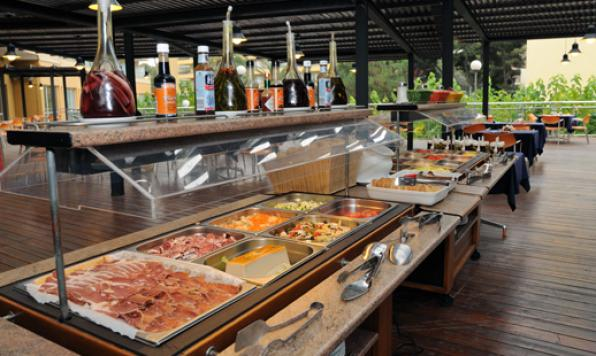 Restaurante Buffete AlFresco, Hotel Calypso Salou.
