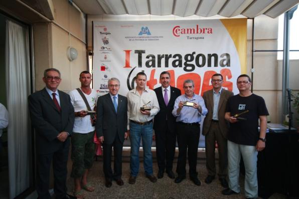 Tarragona DTapes delivery gold holders to the best tapas