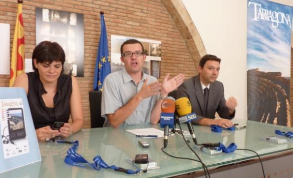 The City Council of Tarragona show visits by self  with MP4 arragona Romana