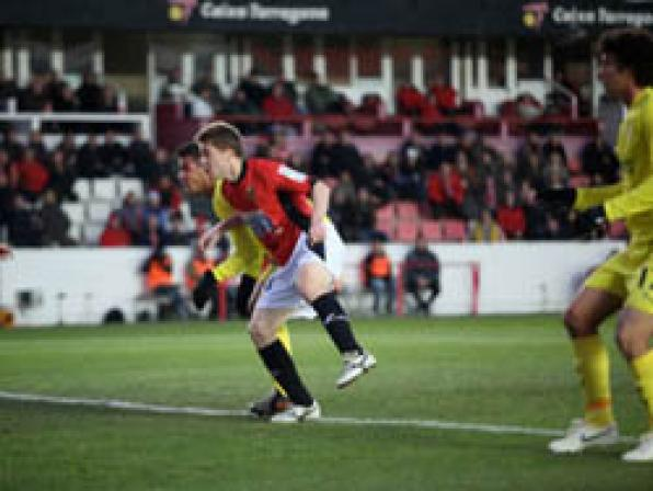 Charity football game for children of the third world and UNICEF in Tarragona next Tuesday