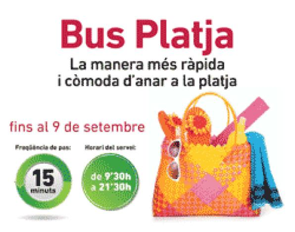 Tarragona starts the Beach Bus service